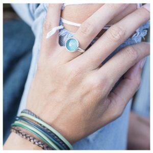 Ring, rond klein