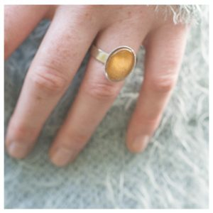 Ring, klein ovaal