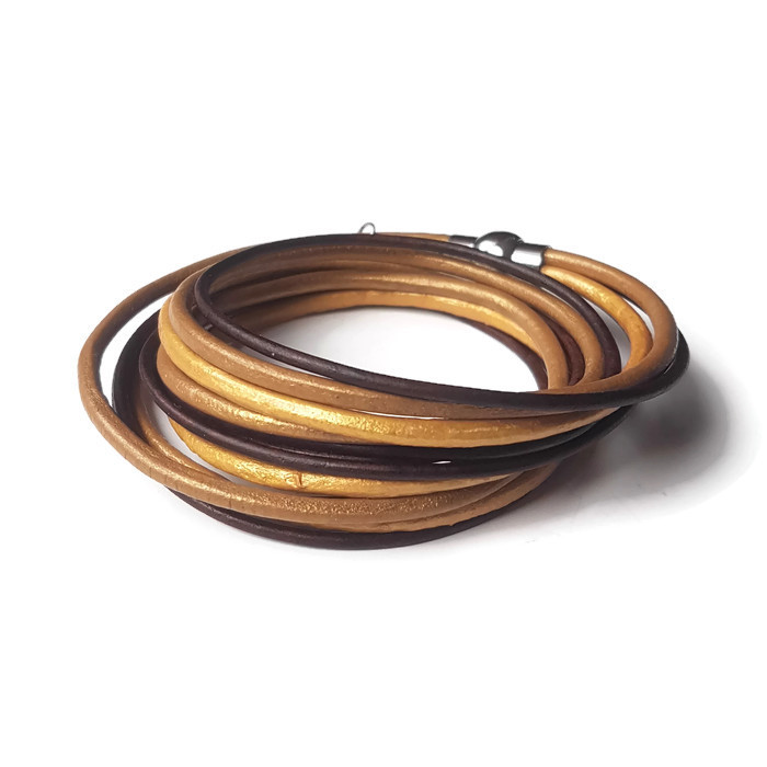 5c84f427c7a Armband MILA goud - Handgemaakte sieraden webshop